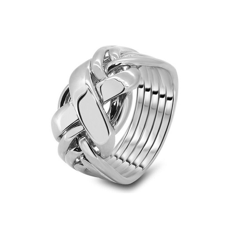 Platinum Puzzle Ring 6RX-M
