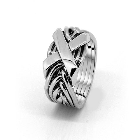 Platinum Puzzle Ring 8FX-L