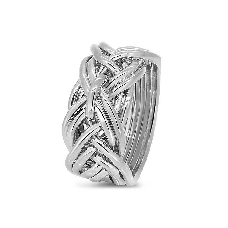 Platinum Puzzle Ring 9WD-L