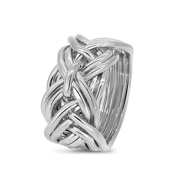 Platinum Puzzle Ring 9WD-M