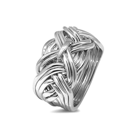 Silver Puzzle Ring 11WD-M