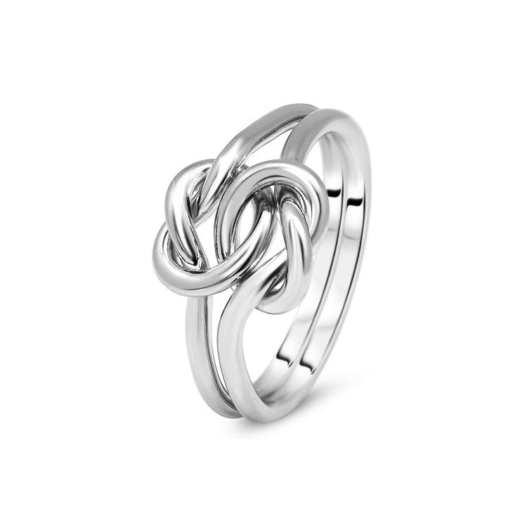Silver Puzzle Ring 2K1-L