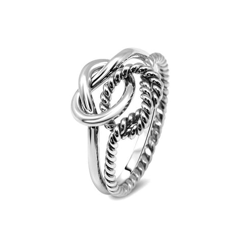 Silver Puzzle Ring 2K2-L