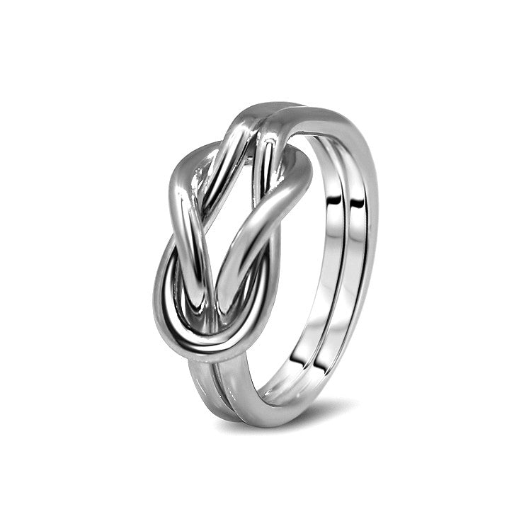 Silver Puzzle Ring 2K4-L