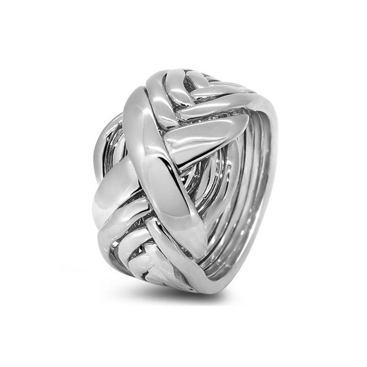 Silver Puzzle Ring 8RX-M