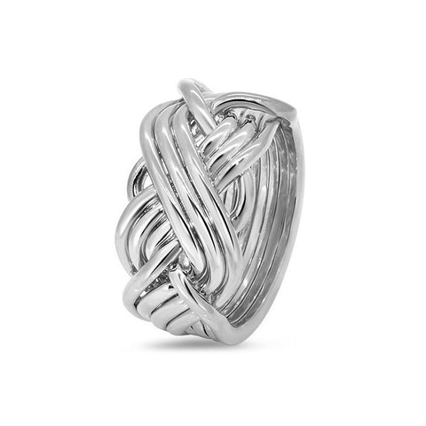 Silver Puzzle Ring 8T3-L