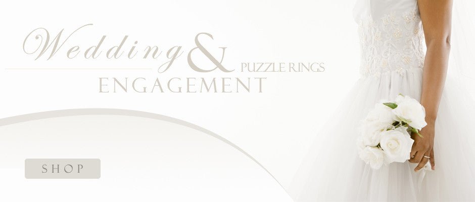 Wedding & Engagement Puzzle Rings