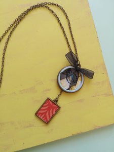 Bronze Base Necklace - Upcycling and author design