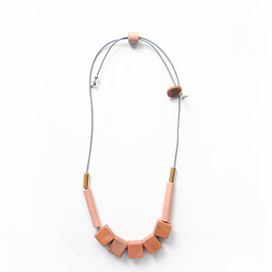 Collar Nativa rose gold