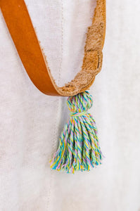 Detail of the tassel