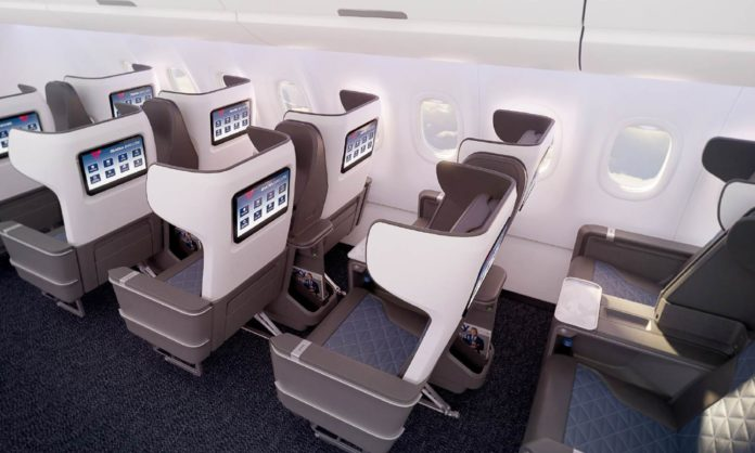 Delta Introduces New First Class Seats For A321neo Domestic Fleet