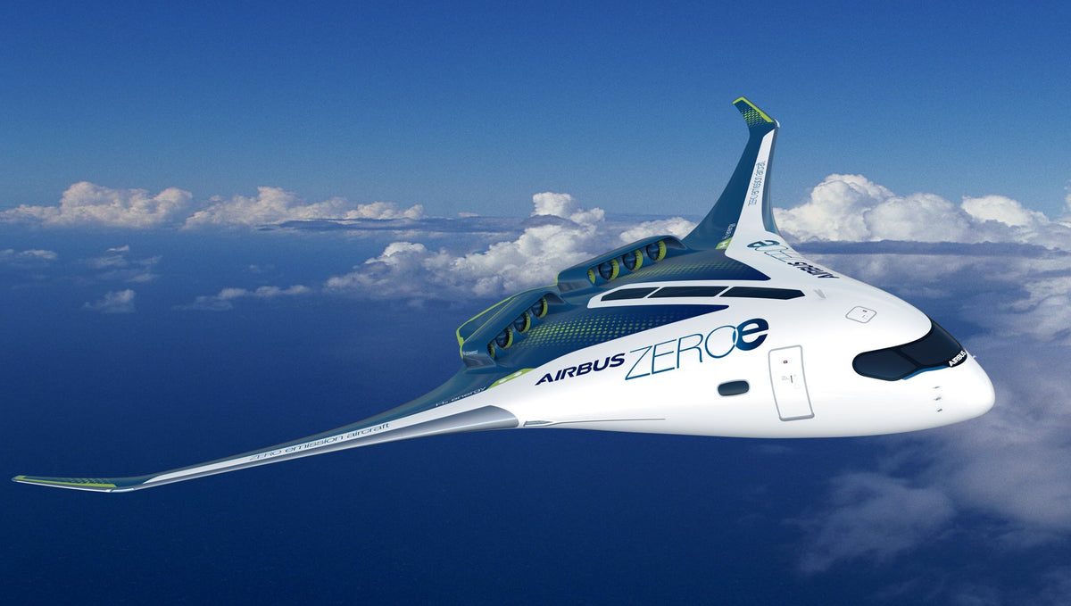 Here Are Airbus New Zero-Emission Concept Aircraft