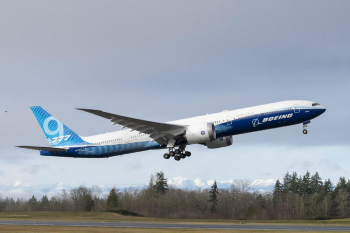 Boeing 777X Completes Successful First Flight