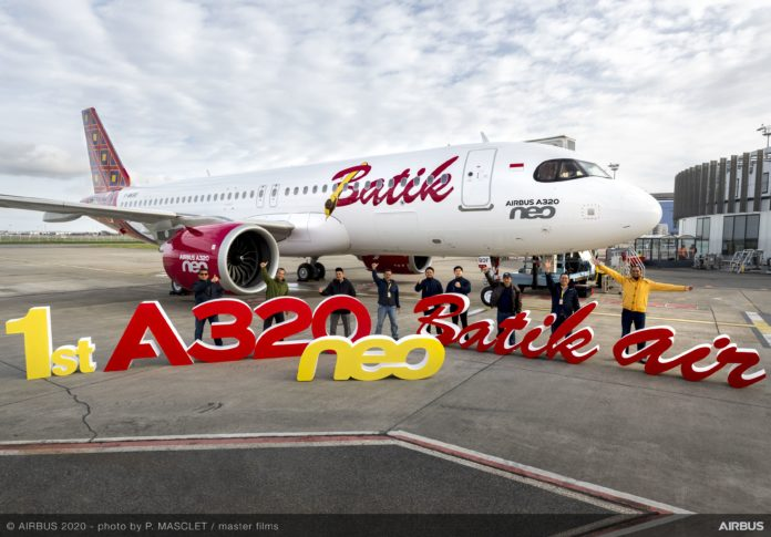 Batik Air Receives Its First Airbus A320neo