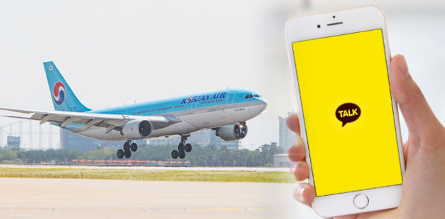 Korean Air And Kakao To Offer Flight Booking Service Via Messenger
