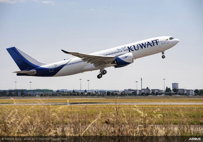 Kuwait Airways Received Its First Two Airbus A330neos