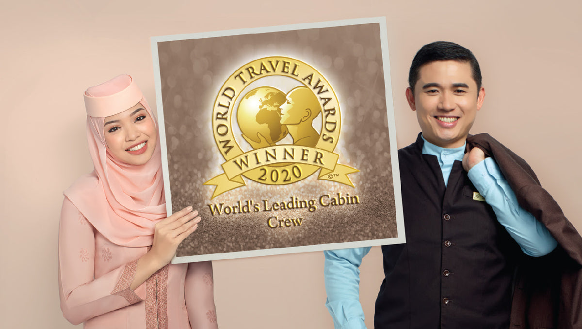 Royal Brunei Airlines Awarded World's Leading Cabin Crew 2020