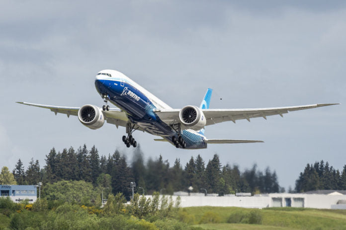 Boeing Successfully Completes Second 777X First Flight