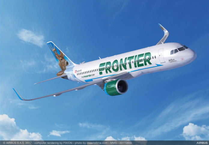Frontier Airlines Announces College Students Fly Free