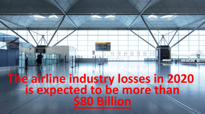 Airline Industry Losses To Exceed $84 Billion in 2020