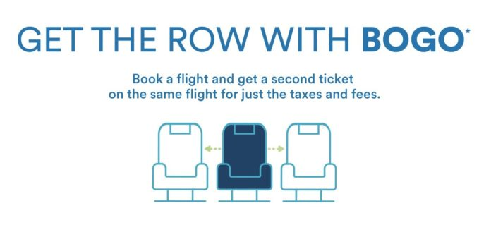 "Alaska Airlines Launches BOGO Sale And ""Get The Row"""
