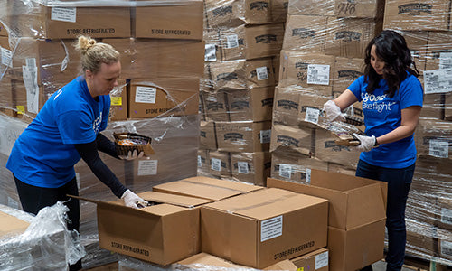 American Airlines Donates More Than 81,000 Pounds Of Food Across The Country