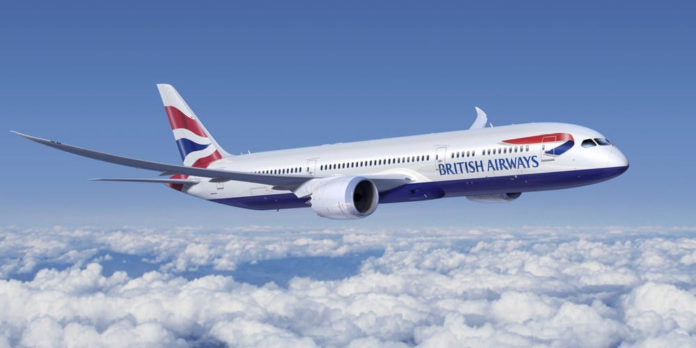 British Airways To Fly Their First B787-10 Dreamliner