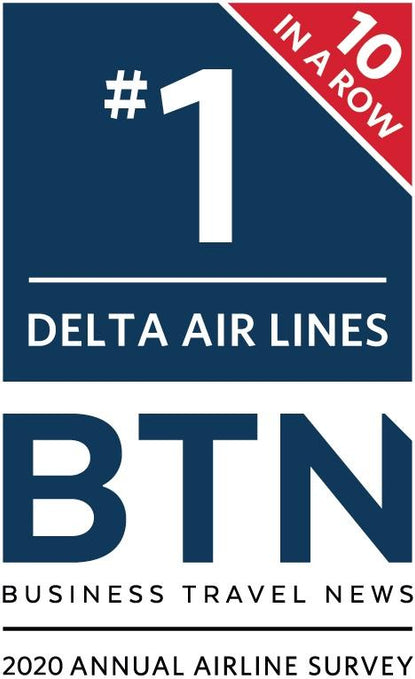 Delta Wins The #1 Airline Award By Corporate Travel Professionals For The 10th Year In A Row