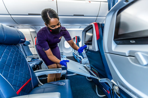 Delta Earns 'Diamond' Rating For Cleanliness