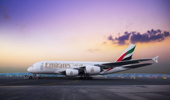Emirates To Moscow and St. Petersburg Chartered Flights