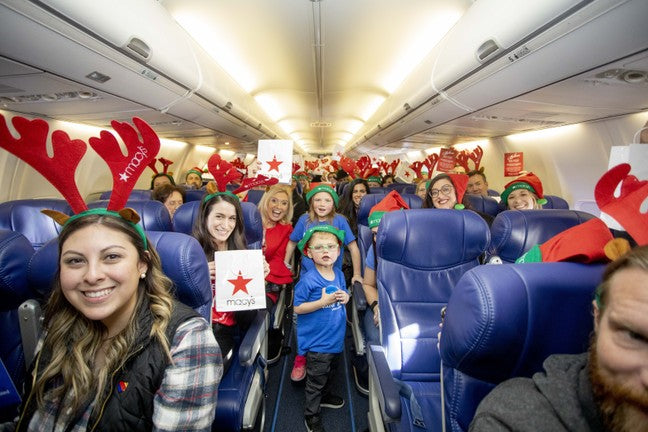 Southwest Airlines Has Donated 10,000 Roundtrip Tickets