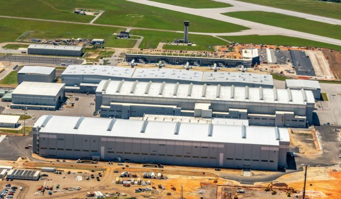 Airbus Opens Its New A220 Facility In Mobile, Alabama