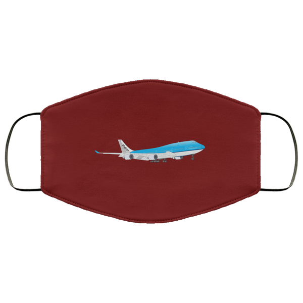 Queen Of The Skies 3 Layers Reusable Cloth Face Mask