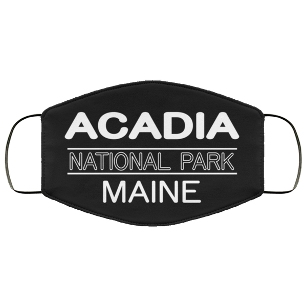 Acadia National Park 3 Layers Reusable Cloth Face Mask