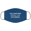 Yellowstone National Park 3 Layers Reusable Cloth Face Mask