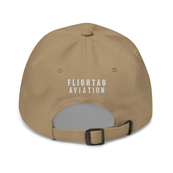 707 Aviation Embroidered Classic Cap khaki