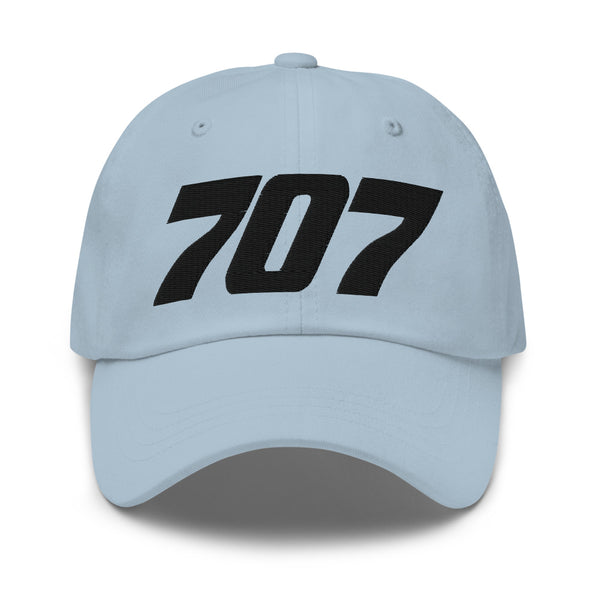 707 Aviation Embroidered Classic Cap blue
