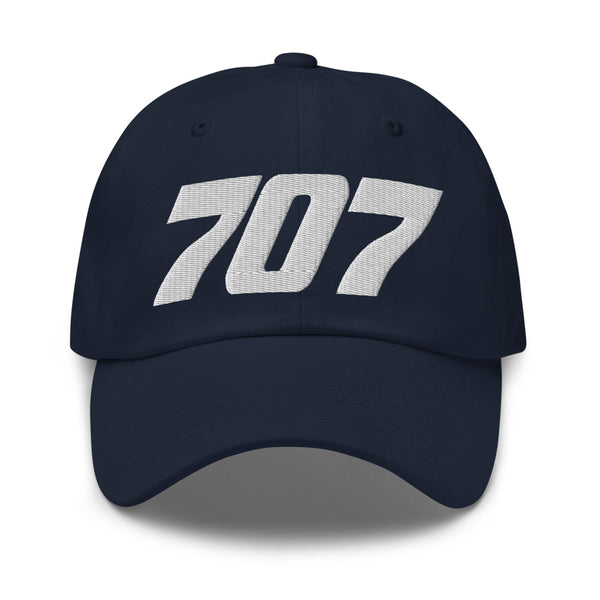 707 Aviation Embroidered Classic Cap navy