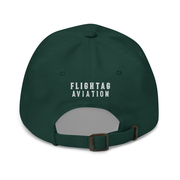 707 Aviation Embroidered Classic Cap green