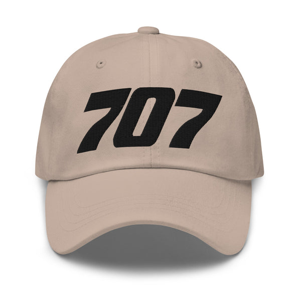 707 Aviation Embroidered Classic Cap stone