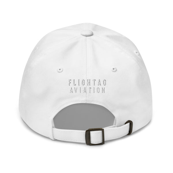 707 Aviation Embroidered Classic Cap white