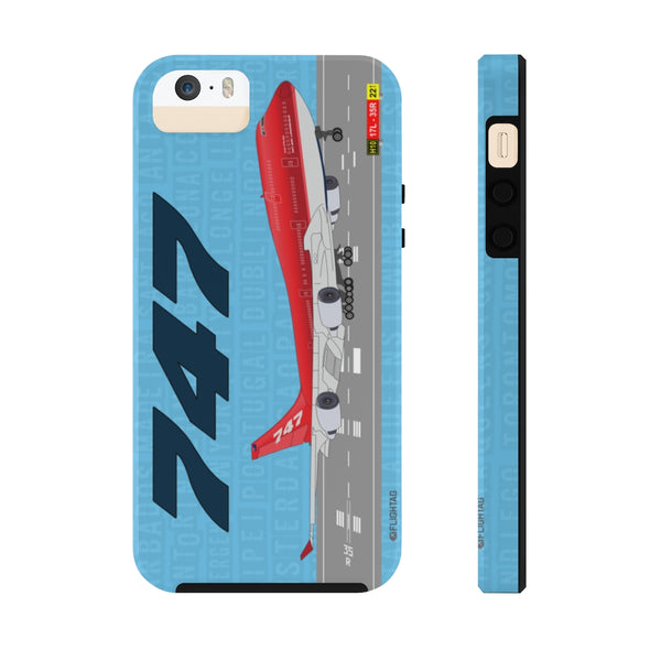 747 - iPhone And Galaxy Phone Cases - Tough Case