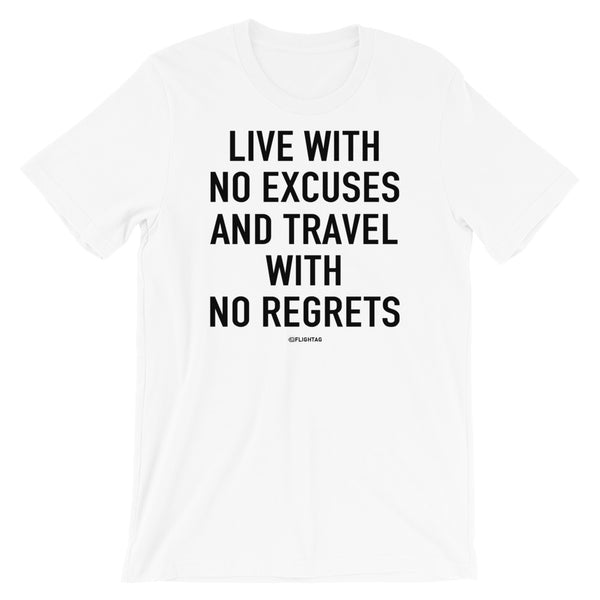 live with no excuses T-Shirt white And Printed Hoodies Vacation Sweatshirt One Gift Airportag Iconspeak Shop Travlshop Wanderlust PilotMall JetSeam Aviator Gear Travel Notes Wild Blue MyPilotStore Sportys Spreadshirt aviationshirts theaviationstore flightstore pilotexpressions aviationlifeclothing jetstream bobspilotshop piloteyesstore skygeek sportys aviatorwebsite aircraft mechanicshirts siu aviation pilot aeroplane pilotshop aviationclothing24 auburn flyawayapparel skysupplyusa