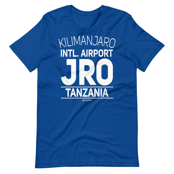 Kilimanjaro International Airport Tanzania JRO IATA Code T-Shirt royal blue And Printed Hoodies Vacation Sweatshirt One Gift Airportag Iconspeak Travlshop Wanderlust PilotMall JetSeam Aviator Gear Travel Notes Wild Blue MyPilotStore Sportys Spreadshirt aviationshirts theaviationstore flightstore pilotexpressions aviationlifeclothing jetstream bobspilotshop piloteyesstore skygeek sportys aviatorwebsite aircraft mechanicshirts siu aviation pilot aeroplane pilotshop aviationclothing24 flyawayapparel