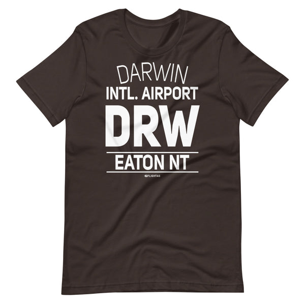 Darwin International Airport Eaton NT DRW IATA Code T-Shirt brown And Printed Hoodies Vacation Sweatshirt One Gift Airportag Iconspeak Travlshop Wanderlust PilotMall JetSeam Aviator Gear Travel Notes Wild Blue MyPilotStore Sportys Spreadshirt aviationshirts theaviationstore flightstore pilotexpressions aviationlifeclothing jetstream bobspilotshop piloteyesstore skygeek sportys aviatorwebsite aircraft mechanicshirts siu aviation pilot aeroplane pilotshop aviationclothing24 flyawayapparel