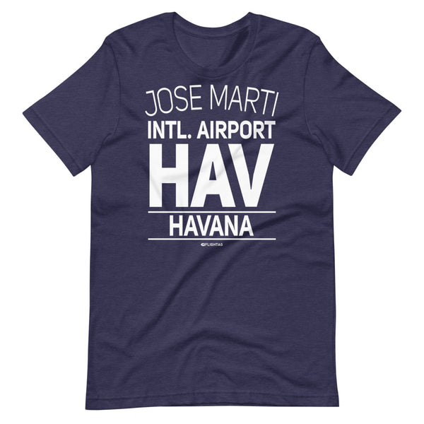 Jose Marti International Airport Havana HAV IATA Code T-Shirt heather navy And Printed Hoodies Vacation Sweatshirt One Gift Airportag Iconspeak Travlshop Wanderlust PilotMall JetSeam Aviator Gear Travel Notes Wild Blue MyPilotStore Sportys Spreadshirt aviationshirts theaviationstore flightstore pilotexpressions aviationlifeclothing jetstream bobspilotshop piloteyesstore skygeek sportys aviatorwebsite aircraft mechanicshirts siu aviation pilot aeroplane pilotshop aviationclothing24 flyawayapparel
