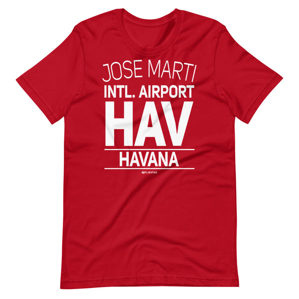 Jose Marti International Airport Havana HAV IATA Code T-Shirt red And Printed Hoodies Vacation Sweatshirt One Gift Airportag Iconspeak Travlshop Wanderlust PilotMall JetSeam Aviator Gear Travel Notes Wild Blue MyPilotStore Sportys Spreadshirt aviationshirts theaviationstore flightstore pilotexpressions aviationlifeclothing jetstream bobspilotshop piloteyesstore skygeek sportys aviatorwebsite aircraft mechanicshirts siu aviation pilot aeroplane pilotshop aviationclothing24 flyawayapparel