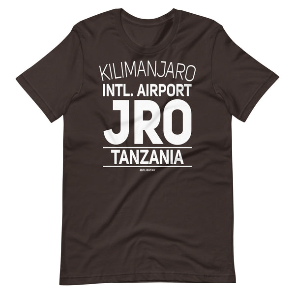 Kilimanjaro International Airport Tanzania JRO IATA Code T-Shirt brown And Printed Hoodies Vacation Sweatshirt One Gift Airportag Iconspeak Travlshop Wanderlust PilotMall JetSeam Aviator Gear Travel Notes Wild Blue MyPilotStore Sportys Spreadshirt aviationshirts theaviationstore flightstore pilotexpressions aviationlifeclothing jetstream bobspilotshop piloteyesstore skygeek sportys aviatorwebsite aircraft mechanicshirts siu aviation pilot aeroplane pilotshop aviationclothing24 flyawayapparel