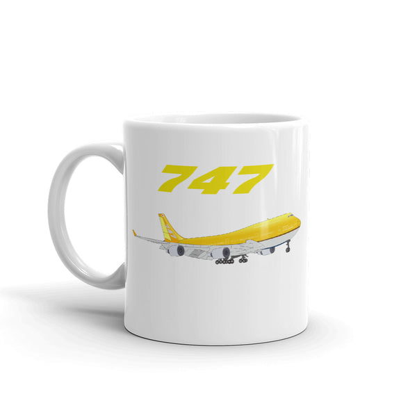 747 Japan Edition Aviation Coffee Mug