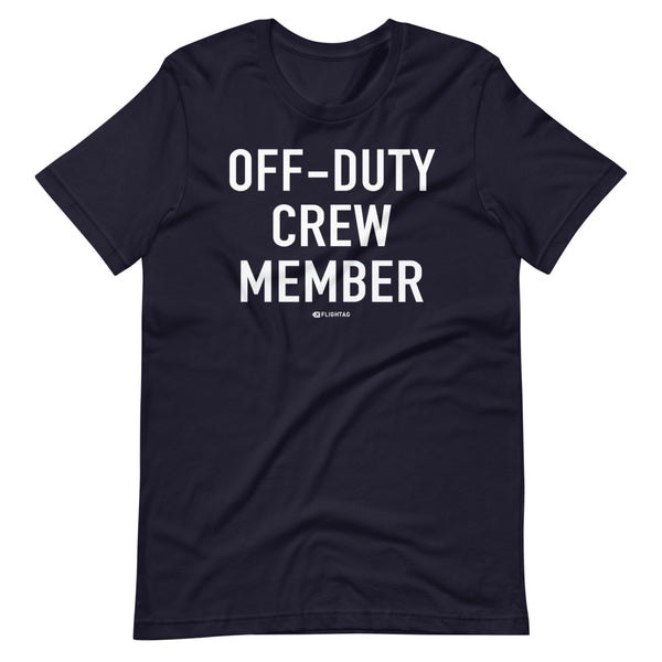 Off-Duty Crew Member T-Shirt navy And Printed Hoodies Vacation Sweatshirt One Gift Airportag Iconspeak Shop Travlshop Wanderlust PilotMall JetSeam Aviator Gear Travel Notes Wild Blue MyPilotStore Sportys Spreadshirt aviationshirts theaviationstore flightstore pilotexpressions aviationlifeclothing jetstream bobspilotshop piloteyesstore skygeek sportys aviatorwebsite aircraft mechanicshirts siu aviation pilot aeroplane pilotshop aviationclothing24 auburn flyawayapparel skysupplyusa